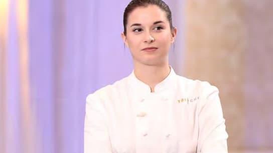 """Sarah Mainguy finaliste de """"Top Chef"""" saison 12."""