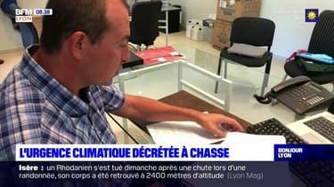 Chasse-sur-Rhône: le maire décrète l'urgence climatique