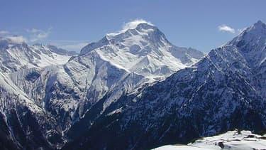 La Roche de la Muzelle, sur le massif des Ecrins en Isère.
