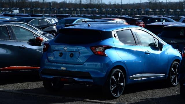 Les ventes de voitures neuves ont ralenti au mois de février. (image d'illustration)