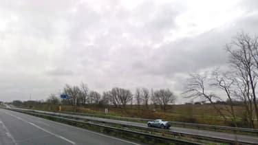 L'autoroute A26 à proximité de la commune de Rely (photo d'illustration).