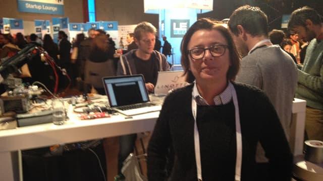 Anne-Cécile Worms, la fondatrice du site Makery, a été chargée de la programmation du FabLab.