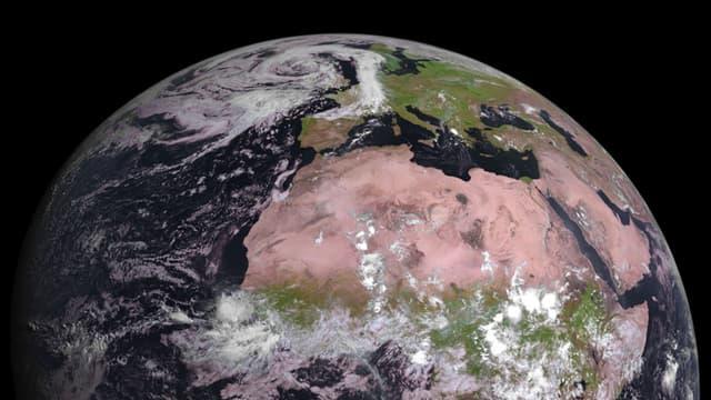 La Terre vue d'un satellite le 4 août 2015.