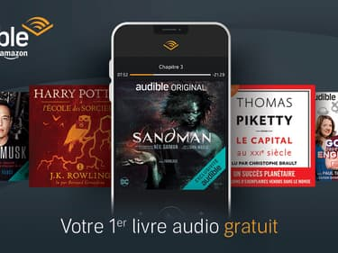 Succombez au livre audio avec Audible