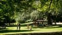 Un parc à Lille.
