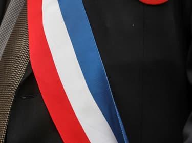 Maire de France et son écharpe d'élu (photo d'illustration)