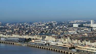 Les rives de la Garonne, à Bordeaux, le 23 octobre 2012.