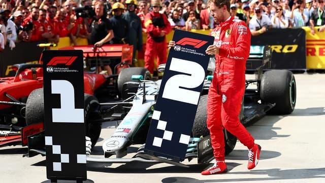 La pénalité infligée à Sebastian Vettel a été confirmée par la FIA.