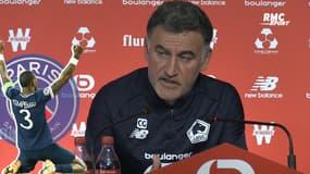 """Galtier félicite le PSG, tombeur du Bayern """"une bonne nouvelle pour le foot français"""""""