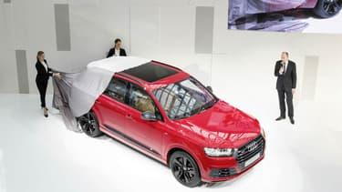 SQ7 (photo), Q2, et dix autres nouveautés ponctueront l'année 2016 pour le constructeur allemand Audi.