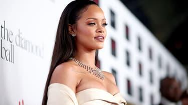 Rihanna en décembre 2015.