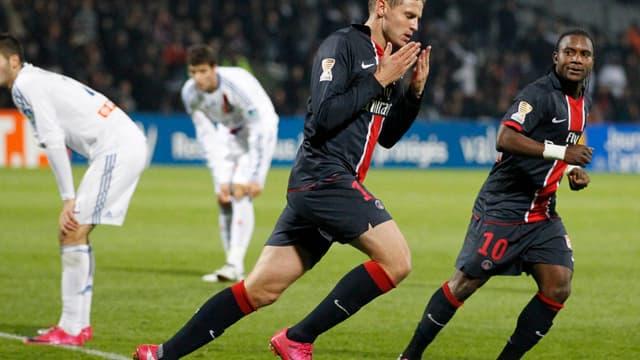 Mathieu Bodmer, ici sous le maillot du PSG