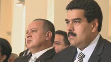 Nicolas Maduro, 50 ans, est président par intérim et héritier politique d'Hugo Chavez.