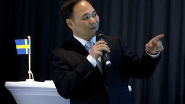 Li Shufu détient le groupe Geely, propriétaire de Volvo.