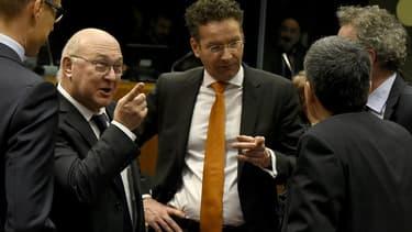 L'Eurogroupe peine à trouver une solution pour aménager la dette grecque.