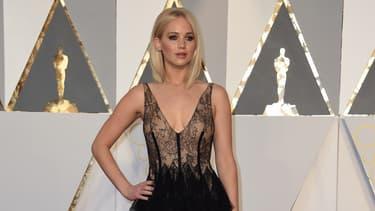 Jennifer Lawrence aux 88e Oscars