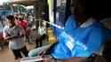 Bureau de vote à Monrovia. Les violences qui ont éclaté lundi dans la capitale du Liberia et l'appel au boycott lancé par l'adversaire de la présidente sortante Ellen Johnson-Sirleaf ont jeté une ombre sur le second tour de l'élection présidentielle, qui