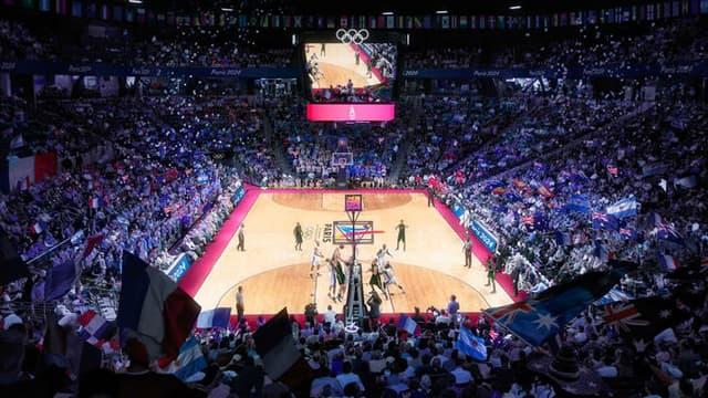 L'Arena 2 accueillera les rencontres de basket pendant les JO de 2024.