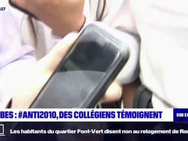 #Anti2010: des collégiens d'Antibes témoignent