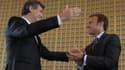 Emmanuel Macron et Arnaud Montebourg ont souligné l'amitié qui les lie