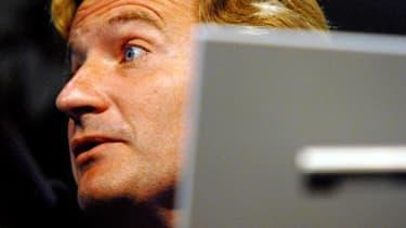 Charles Beigbeder lors d'une conférence de presse à Paris le 17 septembre 2007.