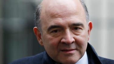 """Pierre Moscovici """"ne souhaite pas"""" atteindre les 3% du de déficit dès cette année."""