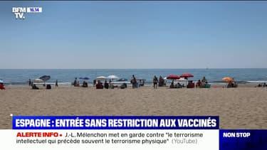 L'Espagne accueille sans restriction les touristes vaccinés