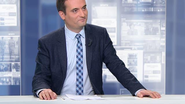 Le vice-président du Front national, Florian Philippot.