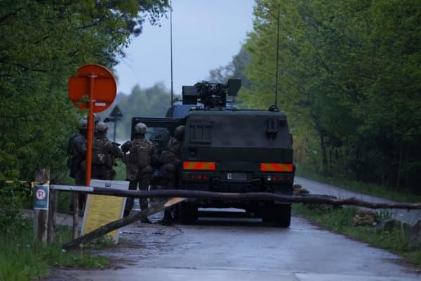 Des militaires viennent en appui de la police belge pour tenter de retrouver Jurgen Conings.