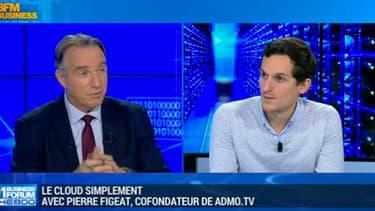 Pierre Figeat, cofondateur d'Admo.TV est venu expliquer dans l'émission de Frédéric Simottel sur BFM Business, les bénéfices qu'apportent le cloud à sa solution d'optimisation de campagnes publicitaires.
