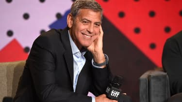 George Clooney à Toronto en septembre 2017