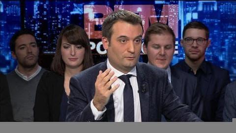 """Philippot ironise sur le référendum du PS: """"La fée clochette a voté"""""""