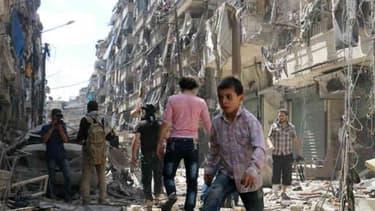Une douzaine d'enfants malades ont été évacués de Madaya, une ville proche de Damas en Syrie
