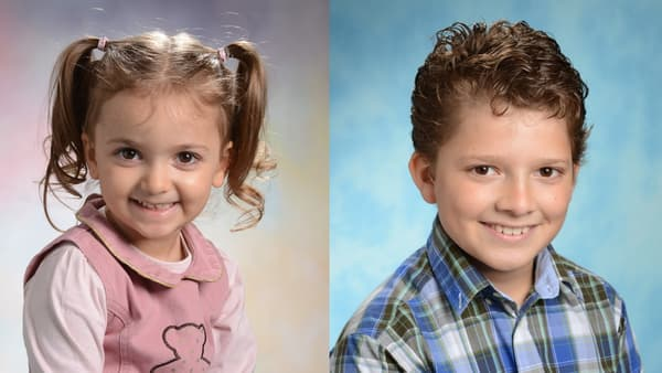 Sophie et Maxime, les enfants de Thierry Guinot.