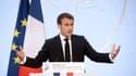 Emmanuel Macron à l'Elysée, le 21 janvier 2020