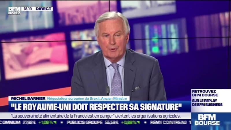 """Michel Barnier (Négociateur européen du Brexit) : """"Le Royaume-Uni doit respecter sa signature"""" - 18/05"""