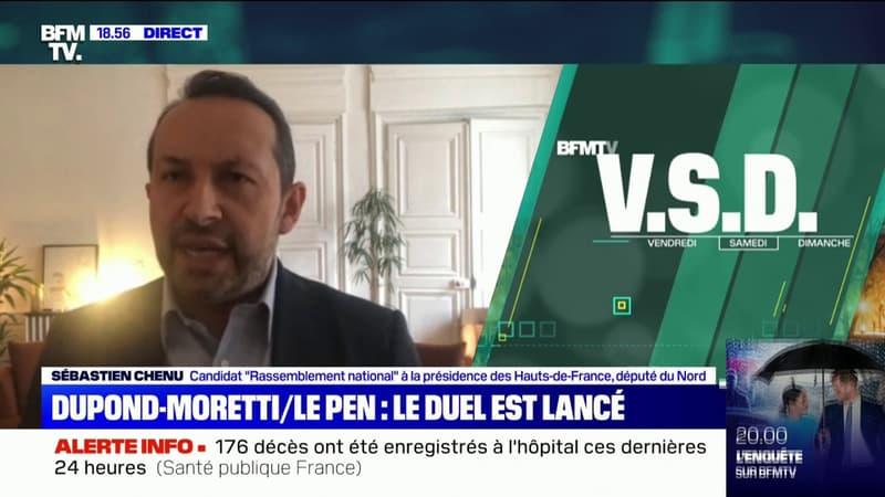 Sébastien Chenu à propos d'Éric Dupond-Moretti: