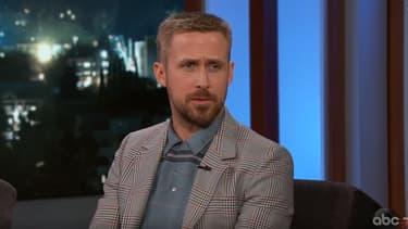 Ryan Gosling sur le plateau du Jimmy Kimmel Show