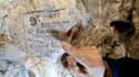 Un exemple de signature de soldat australien laissée à Naours.