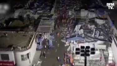 Deux tornades ont saccagé les villes de Wuhan et Suzhou, en Chine