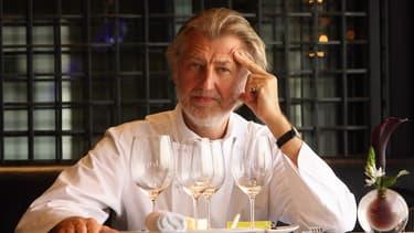 """Pierre Gagnaire, ici en 2007, arrive en tête de ce Top 100 publié par le magazine """"Le Chef""""."""