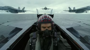 "Tom Cruise dans ""Top Gun Maverick"""