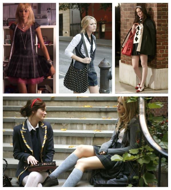 Le style preppy réinventé dans Gossip Girl
