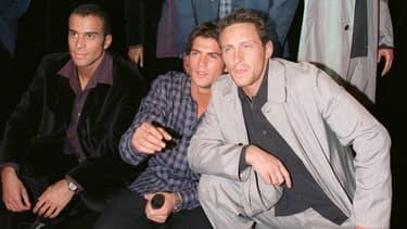 Les 2Be3 en 1998 (de gauche à droite: Adel, Filip et Franck)