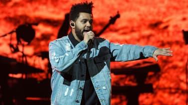 The Weeknd en concert à San Antonio en 2017