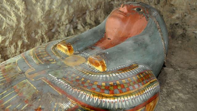 Des chercheurs britanniques ont fait parler une momie vieille de 3 000 ans. Photo d'illustration AFP.