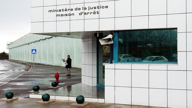 La maison d'arrêt de Borgo, en Corse, le 7 mars 2003.