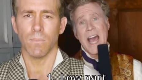 Ryan Reynolds et Will Ferrell sur TikTok