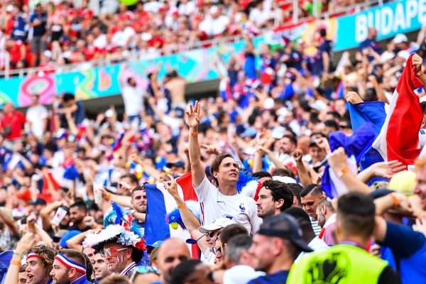 Des supporters français à Budapest samedi dernier