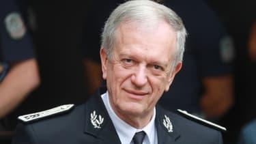 Le directeur général de la police nationale, Frédéric Veaux, le 9 juin 2020 à Évry